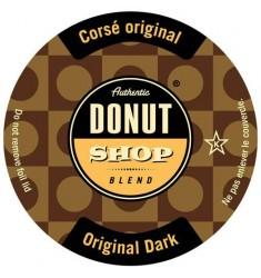 Authentic Donut Shop Dark Roast Single Serve Coffee