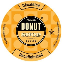 Authentic Donut Shop Decaf, Keurig, Single Serve Coffee