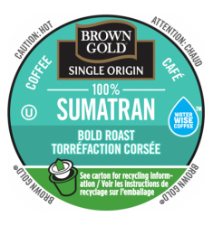 Brown Gold 100% Sumatran Coffee