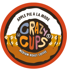 Crazy Cups Apple Pie A La Mode, Single Serve Coffee