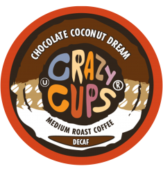 Crazy Cups Decaf Chocolate Coconut Dream Coffee