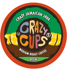 Crazy Cups Decaf Jamaican Java, Single Serve Coffee