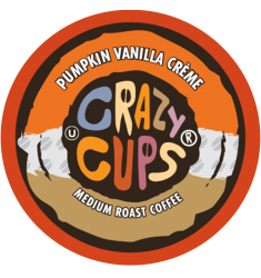 Crazy Cups Pumpkin Vanilla Creme, Single Serve Coffee