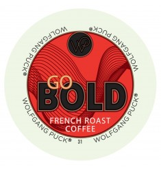 Wolfgang Puck Go Bold Blend, Single Serve Coffee