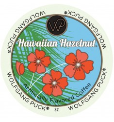 Wolfgang Puck Hawaiian Hazelnut, Single Serve Coffee