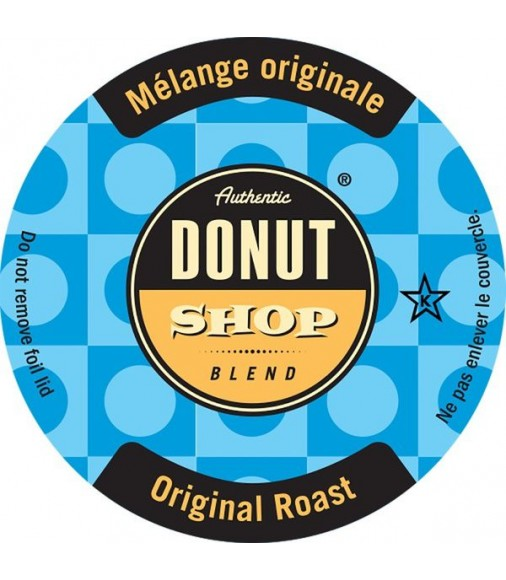 Authentic Donut Shop Original Roast Keurig, Single Serve Coffee