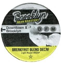 Brooklyn Bean Roastery Breakfast Blend Decaf Coffee