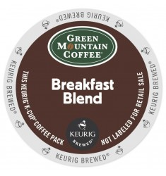 Green Mountain Breakfast Blend Single Serve Coffee