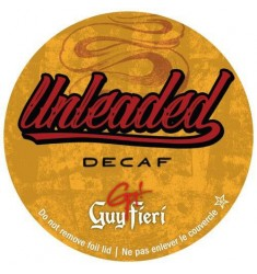 Guy Fieri Unleaded Decaf Coffee