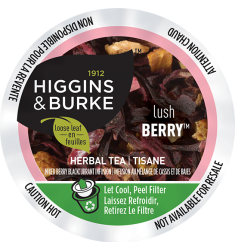 Higgins & Burke Lush Berry Herbal Loose Leaf Tea