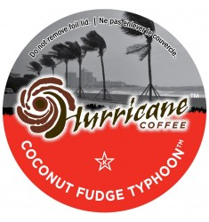 Hurricane Coffee Coconut Fudge Typhoon