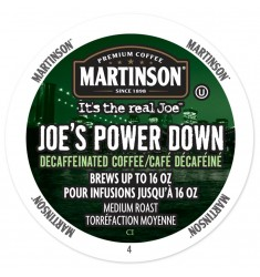 Martinson Joe's Power Down Decaf