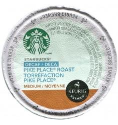 Starbucks Decaf Pike Place, Single Serve Coffee