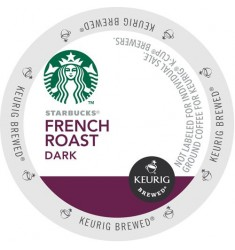 Starbucks French Roast, Single Serve Coffee