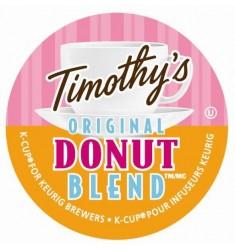 Timothy's Original Donut Blend