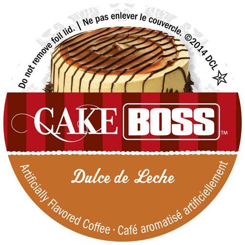 Cake Boss Dulce de Leche Coffee, Keurig, K-Cup Compatible ...
