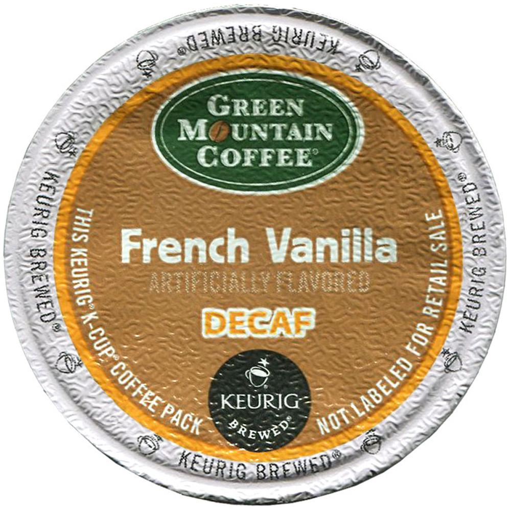 Green Mountain French Vanilla Decaf Coffee Keurig K Cup