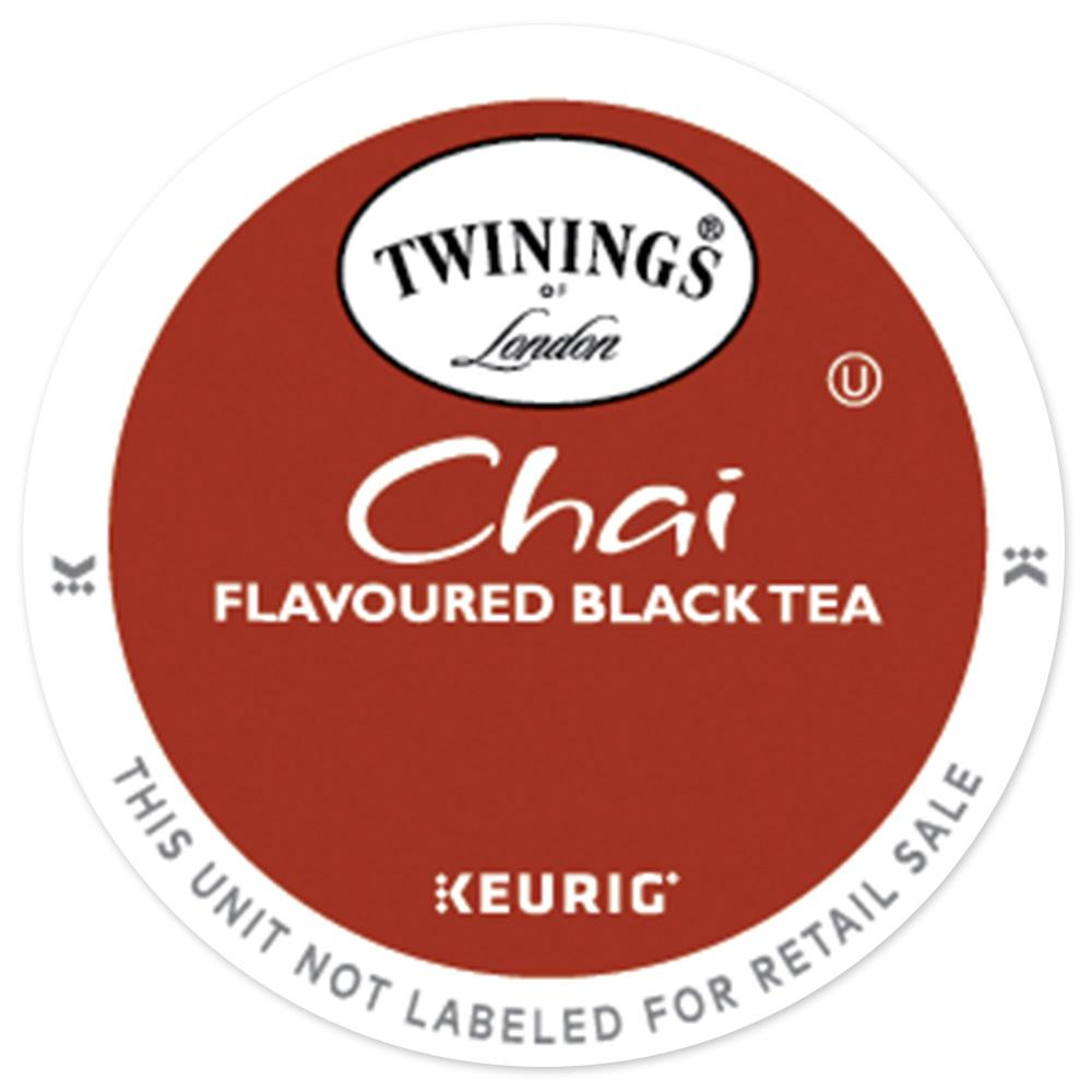 Twinings Chai Tea Keurig K Cup Compatible Bobby The
